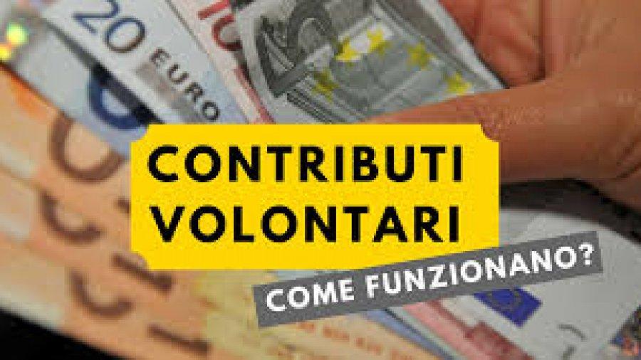 La contribuzione volontaria